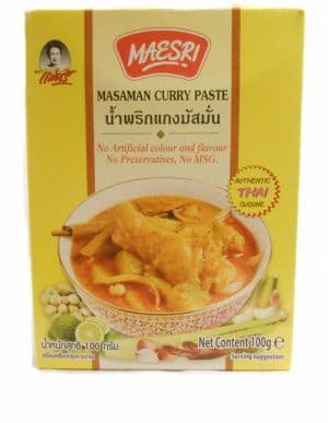 100g Masaman Curry Paste by Maesri