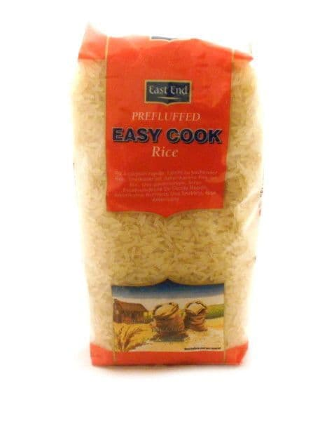 1KG East End Prefluffed Easy Cook Rice