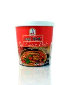 Mae Ploy Red Curry Paste Bulk 1KG | Buy Online at The Asian Cookshop