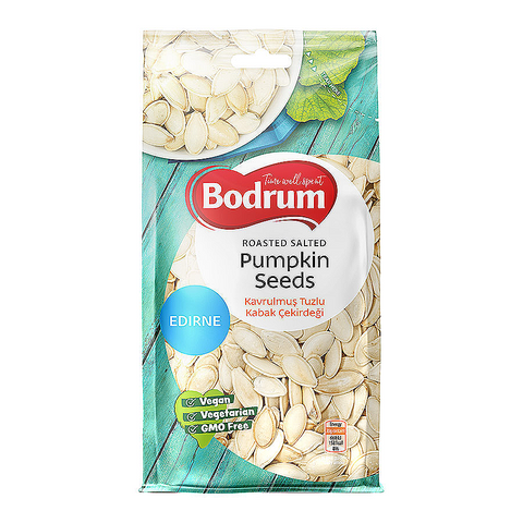 200g Roasted & Salted Pumpkin Seeds by Bodrum