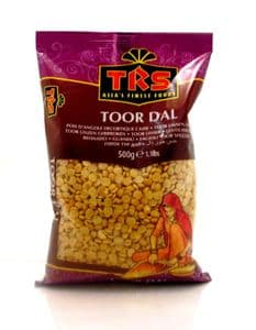 500g Tur Dal (Split Pigeon Pea, Toor, Arhar) | Buy Online at The Asian Cookshop