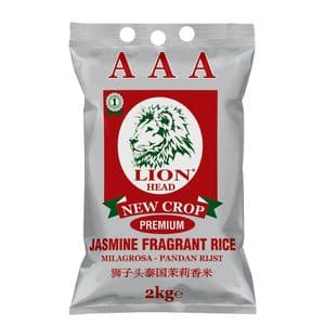 5KG Jasmine Rice by Lion Head | Buy Online at The Asian Cookshop.