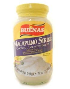 Buenas Macapuno String [Coconut Sport in Syrup] | Buy Online at The Asian Cookshop