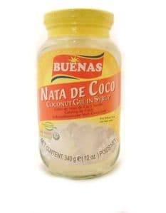 Buenas Nata De Coco [White] [Coconut Gel in Syrup]| Buy Online at The Asian Cookshop