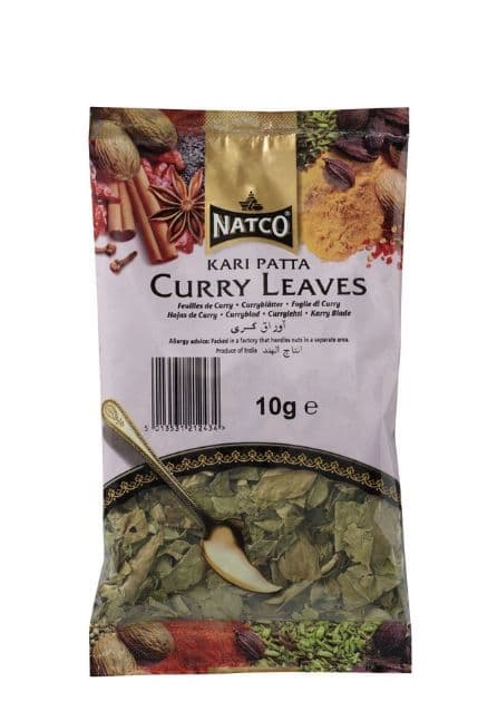 BULK 50g Curry Leaves (Dried Curry Leaf) by Natco