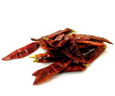 BULK Whole Dried Red Chillies 454g