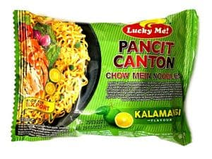 CASE 24 X Lucky Me Kalamansi Instant Pancit Canton (Chow Mein with Citrus)