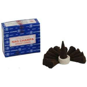 Nag Champa Incense Dhoop Cones | Buy Online at the Asian Cookshop