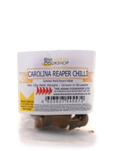 Carolina Reaper Chillies [Dried Whole] | Buy Online at The Asian Cookshop