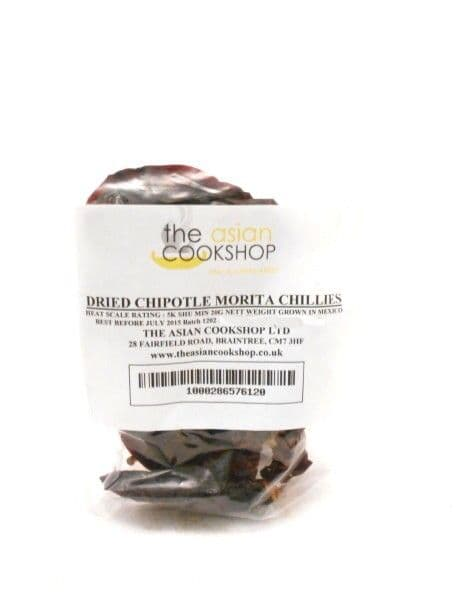 Dried Whole Chipotle Chillies