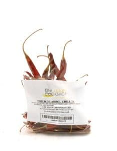 De Arbol Chillies [Dried Whole] | Buy Online at the Asian Cook Shop