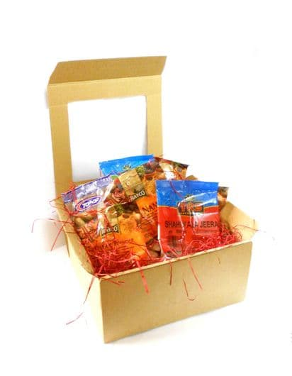 GIFT BOX | '50 Great Curries Of India' Cookbook & Spices Box
