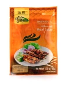 Satay Paste (Indonesian Satay Marinade by AHG) | Buy Online at The Asian Cookshop