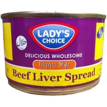 Lady's Choice Beef Liver Spread (Filipino Style)