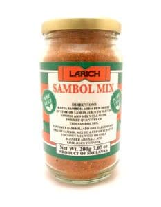 Larich Dry Sambol Mix | Buy Online at the Asian Cookshop
