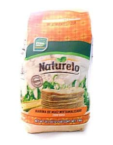 Mexican Masa Harina (Ground White Corn Flour) by Naturelo | Buy Online at the Asian Cookshop