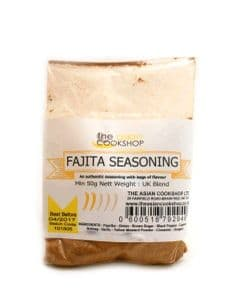 Mexican Style Fajita Seasoning | Buy Online at the Asian Cookshop