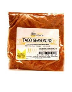 Mexican Style Taco Seasoning | Buy Online at the Asian Cookshop