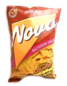 Nova Country Cheddar Cheese Flavour Snack | Buy Online at the Asian Cookshop
