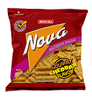 Nova Country Cheddar Cheese Flavour Snack