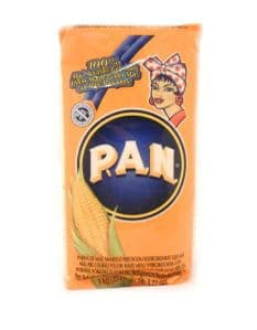 PAN Harina [Yellow Pre-Cooked Cornmeal] | Buy Online at the Asian Cookshop