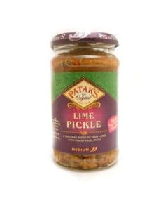 Pataks Lime Pickle | Buy Online at The Asian Cookshop.