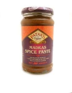Pataks Madras Spice Paste | Buy Online at The Asian Cookshop.