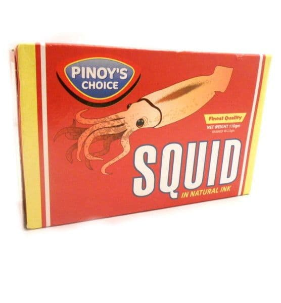 Pinoys Choice Squid in Natural Ink | Buy Online at the Asian Cook Shop