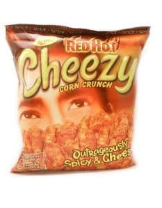 RED HOT Cheezy Corn Crunch | Buy Online at the Asian Cookshop