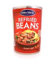 Refried Beans by Santa Maria | Buy Online at the Asian Cook Shop