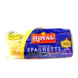Royal Premium Spaghetti (Stay Firm Pasta) | Buy Online at the Asian Cookshop