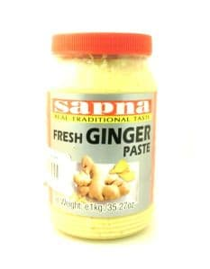 Ginger Paste [Minced] 1KG by Sapna | Buy Online at the Asian Cookshop