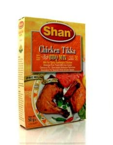Shan Chicken Tikka [mix for BBQ chicken]   Buy Online at The Asian Cookshop.
