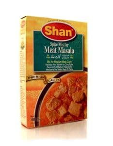 Shan Meat Masala [mix for medium meat curry] | Buy Online at The Asian Cookshop.