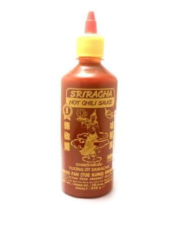 Sriracha Hot Chilli Sauce by Suree | Buy Online at The Asian Cookshop.
