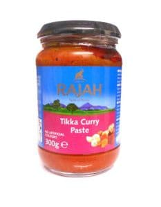 Tikka Curry Paste by Rajah | Buy Online at the Asian Cookshop