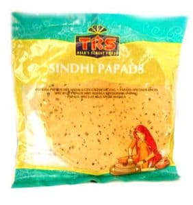 Poppadoms (Sindhi Masala Papads) by TRS  | Buy Online at the Asian Cookshop