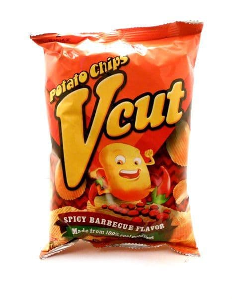 VCut Potato Chips [Spicy Barbecue BBQ Flavour] by Jack 'n Jill