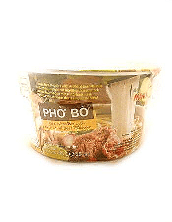 Vietnamese Pho Bo (Beef) Instant Bowl Noodles by Mama