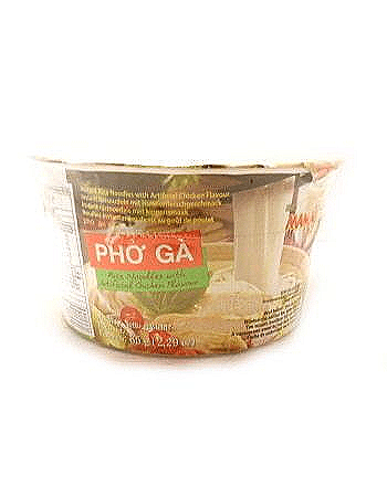 Vietnamese Pho Ga (Chicken) Instant Bowl Noodles by Mama