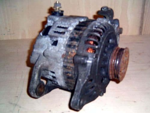 Alternator, used, Mazda MX-5 Mk2 1.6 & 1.8, BP4W, 1998 - 2000