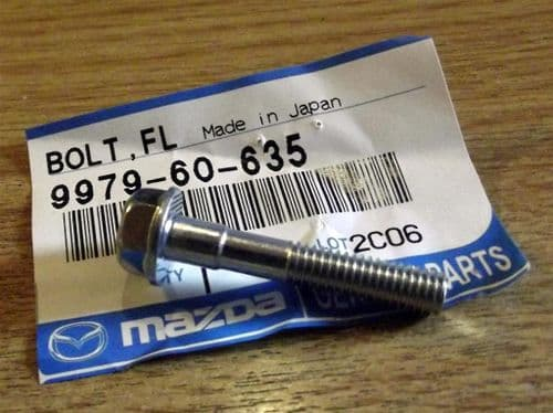 Bolt, timing belt cover, Mazda MX-5, 35mm, 997960635