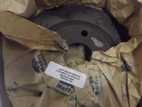 Brake discs, J-Hooked, grooved, Mazda MX-5 mk2.5 1.8 Sport, rear, 276mm (pair)