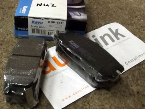 Brake pads, rear, Mitsubishi GTO -92, EVO, Galant VR4, Spacewagon