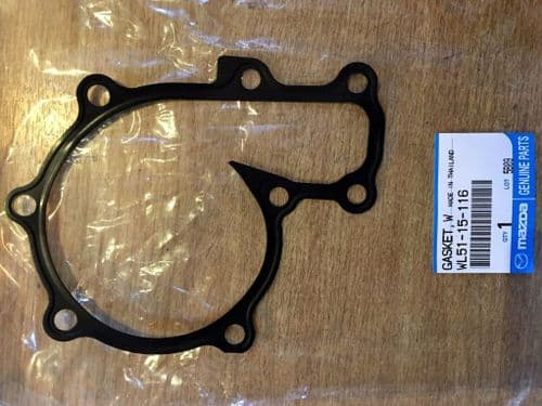 Gasket, water pump, Bongo 2.5 TD, B2500, waterpump, WL5115116