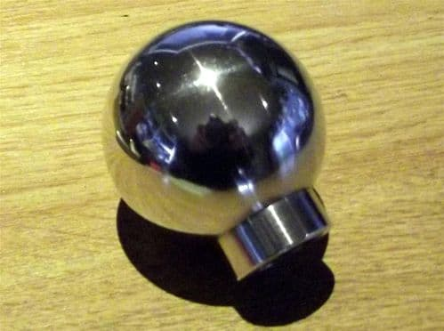 Gearknob, Mazda MX-5, ball type, polished aluminium