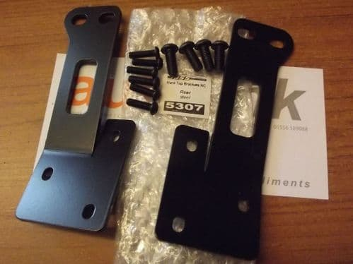 Hardtop fixing brackets, side mounting, MX-5 mk3, with fittings, JASS Performance