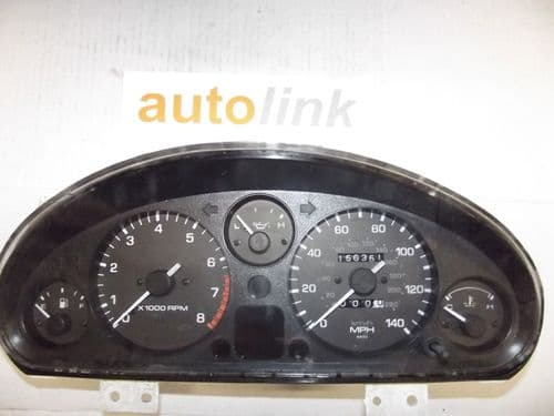 Instrument cluster panel, Eunos Roadster MX-5 mk1 NB51, mph, USED
