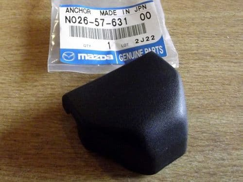 Seatbelt bolt top cover, Mazda MX-5 mk1 1.8 1993-98, N0265763100