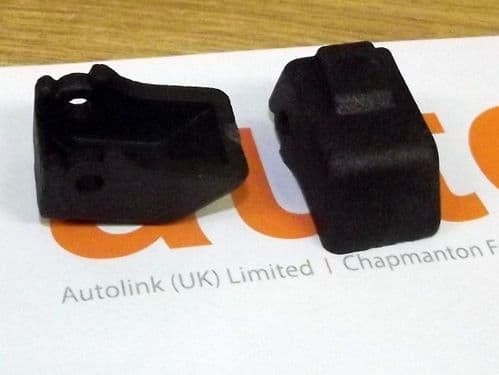 Soft top front catch replacement buttons Mazda MX-5 mk1 & mk2,  l/h & r/h hood roof latch repair